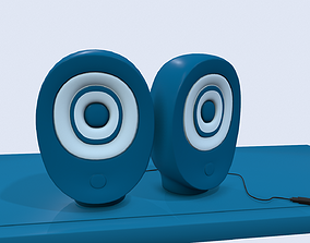 Cartoon Speaker 3D
