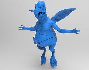 Watto from Star Wars sculpt 3D model