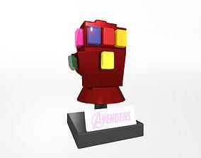 3D model Lego Infinity Gauntlet v1 002