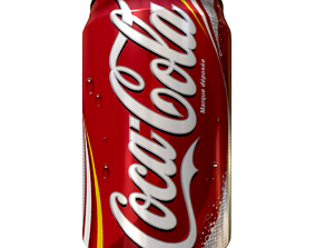 Coke Can 3D asset