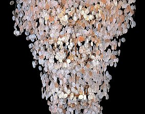 Crystal Lux Barcelona SP33 Chandelier 3D