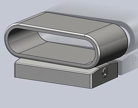 ALP Adjustable Truck Bumper Sensor Holder 3D print model