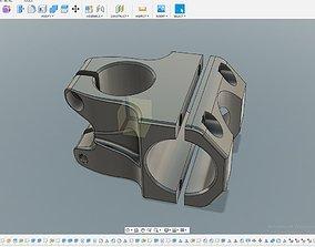 3D clamp bike sport engeeniring technology