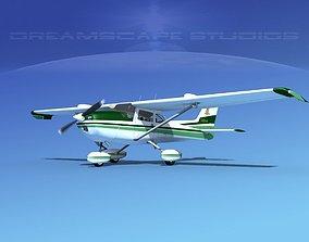 3D model Cessna 172 Skyhawk STOL V10