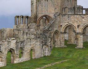 3D model Abbey In Ruins Monastery for DAZ Studio