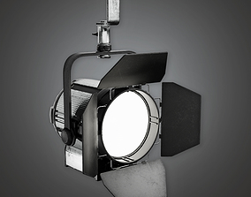 3D model Stage Lights - PBR Game Ready