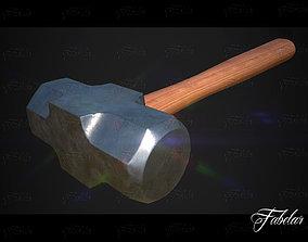 3D asset Engineering hammer