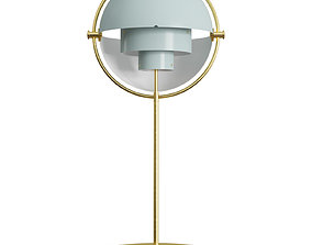 Multi-Lite Table Lamp 3D model