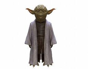 3D model Yoda in-game