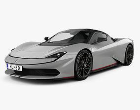 3D Pininfarina Battista 2020