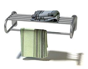 3D model Stainless Towel Rack