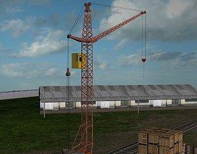 3D asset Industrial Area