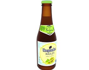 3D Wheat beer bottle Hoegaarden