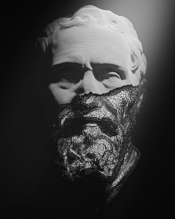 PORTRAIT OF MICHELANGELO 3