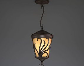 3D Retro Lamp With Ornaments