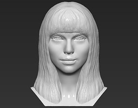 Taylor Swift bust 3D printing ready stl obj formats
