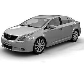 3D Toyota Avensis 2009