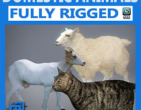 Pack - Domestic Animals Rigged 3D