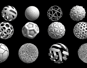 Abstract spheres 3D
