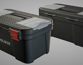 3D model Toolbox animation ready