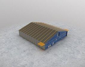 EDDH Hangar 1 3D model