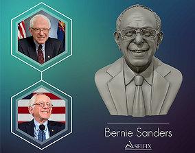 statue Bernie Sanders 3D sculpture Ready to 3D print