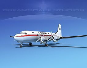 Douglas DC-4 Riddle Airlines 3D model