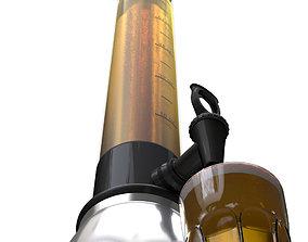 Beer tower dispenser 3D model
