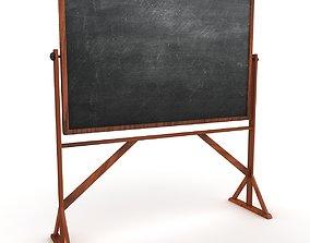 Reversible Freestanding Chalkboard 3D model