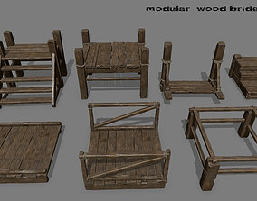 Wood Bridge 1 3D model