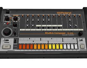 3D Rhythm Composer Roland TR 808