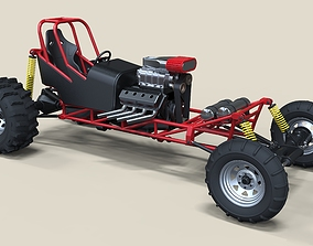 Mud dragster 3D