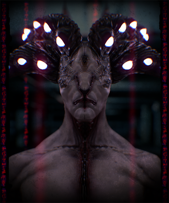 Hypnotic Horned Demon