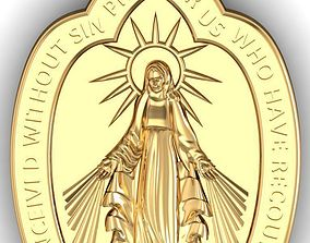 pendants mother maria 3D print model