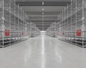 Warehouse Interior 6 3D model