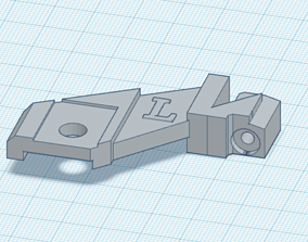 VW GTI Golf Jetta r32 mk5 Upper Left 3D printable model 2