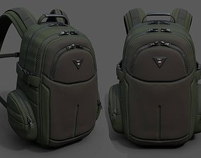 Backpack Camping Generic military combat soldier 3D model
