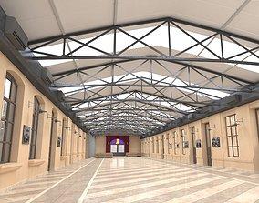 3D Hallway Lobby