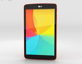 LG G Pad 8-0 Luminous Orange 3D