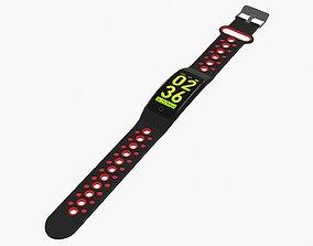 Smart watch 01 open 3D model