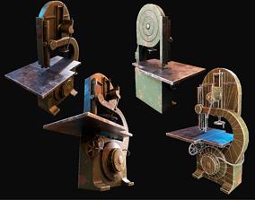 3D asset Saw Metalworking Machine WWII