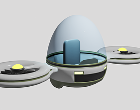 3D asset Personal Drone