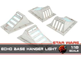 Star Wars Echo Base Hanger light - 1-18 3D print model
