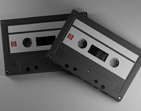 3D model Audio Cassette Tape