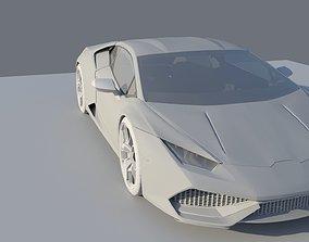 Lamborghini Huracan 3D model luxury