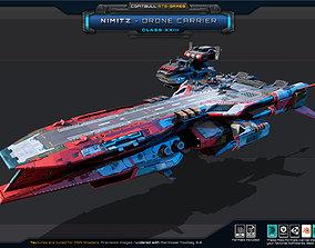 NEXTGEN - Nimitz - Drone Carrier Class XXIII 3D asset