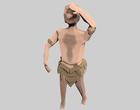 caveman 3D model