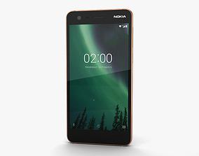 3D Nokia 2 Copper Black