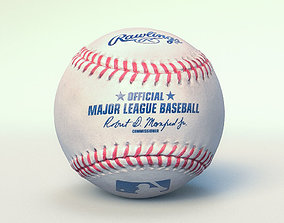 3D model Official Major League Baseball