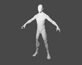 rigged 3D Base mesh fbx format